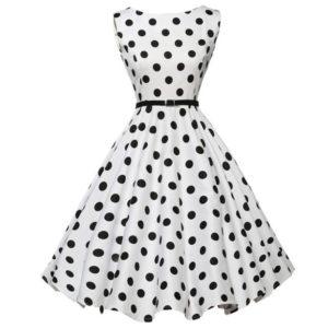 Puntíkaté šaty AliExpress