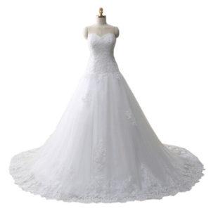 Svatební šaty AliExpress