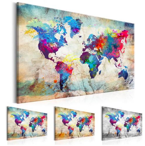 Mapa světa AliExpress