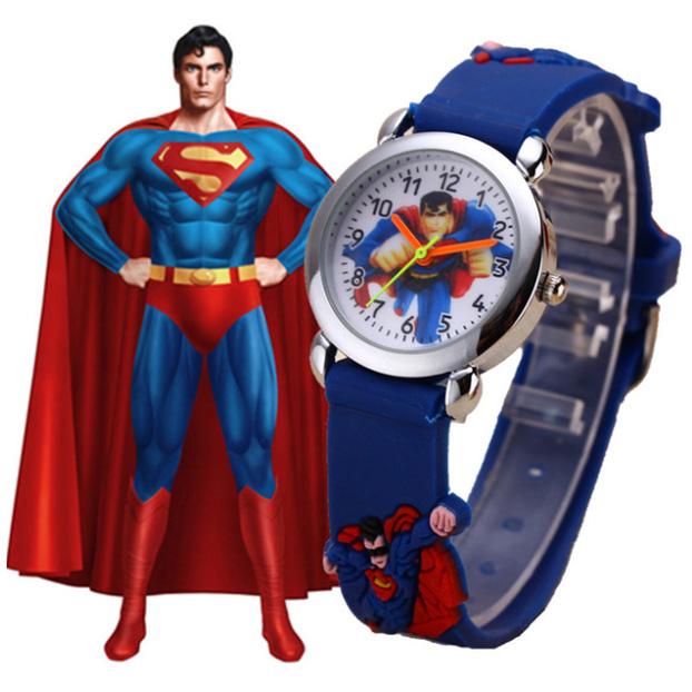 Dětské hodinky Superman AliExpress