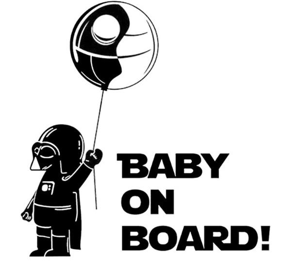 Samolepka Baby on Board AliExpress