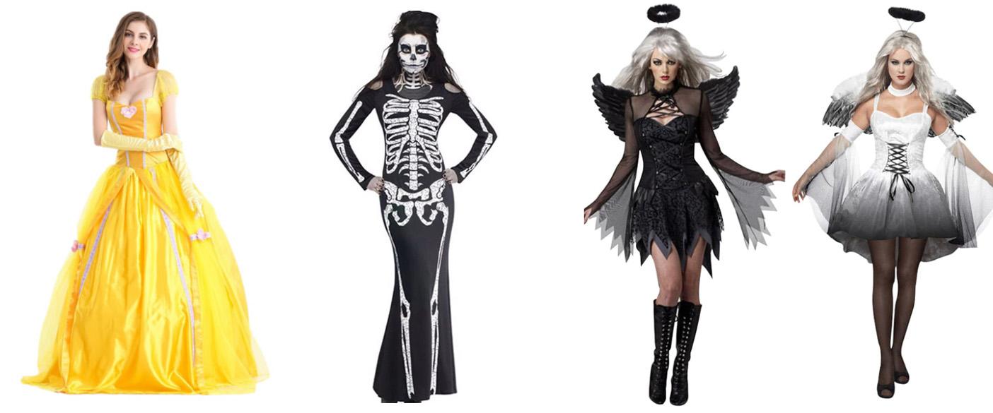 8a9d54b55a8c Kostýmy na Halloween z AliExpress