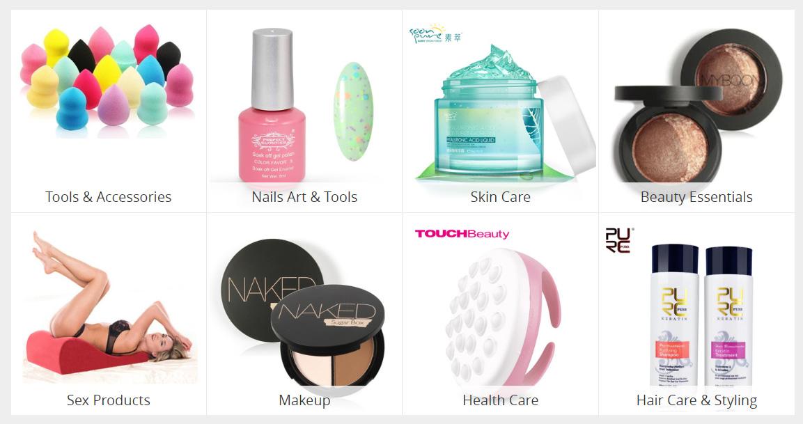 Kosmetika z ALiExpress