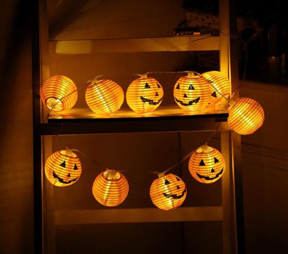 Lampičky na Halloween z AliExpress