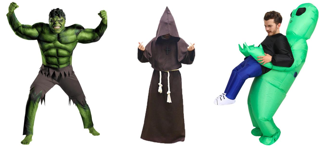 Kostýmy na Halloween z AliExpress