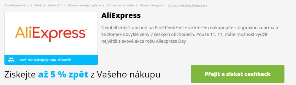 AliExpress Day Plná Peněženka