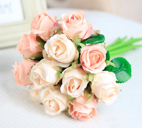 Malé růže z AliExpress