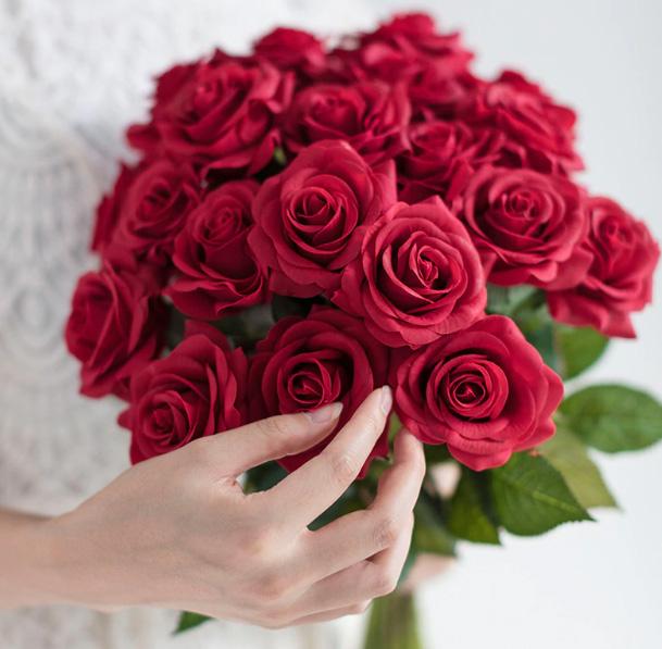 Velké růže z AliExpress