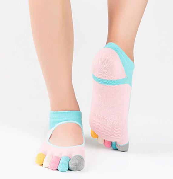 Ponozky na jógu z AliExpress