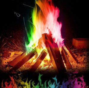 Barevný oheň z AliExpress