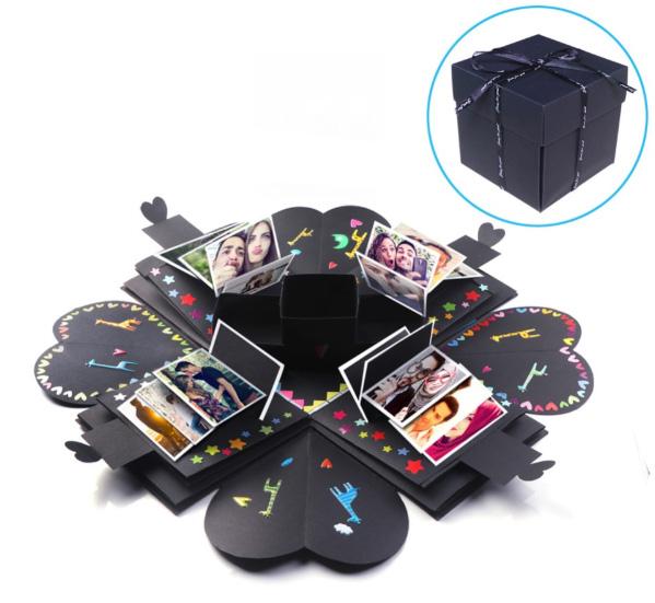 Krabička na prstýnky z AliExpress