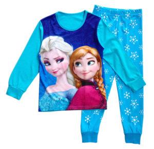 Pyžamo Elsa z AliExpress