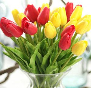 Tulipány z AliExpress