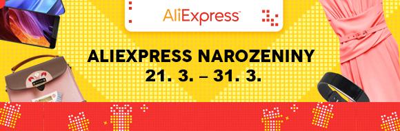 AliExpress narozeniny