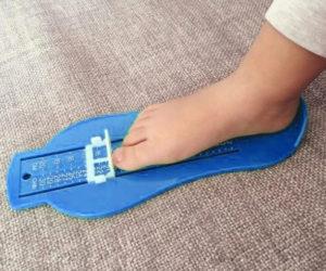Měřidlo nohy z AliExpress