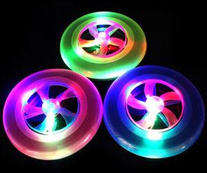 Svítící frisbee z AliExpress