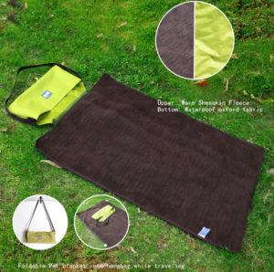 Cestovní deka z AliExpress