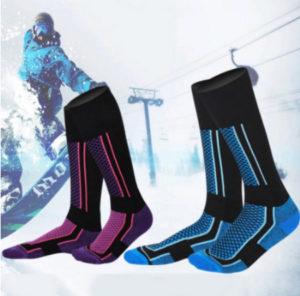 Lyžařské ponožky z AliExpress