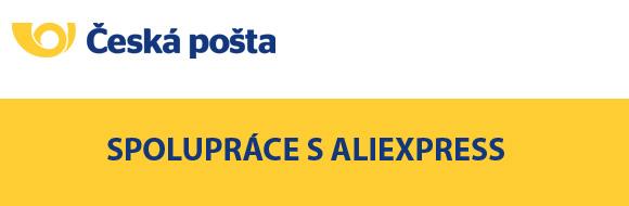 Česká pošta a AliExpress